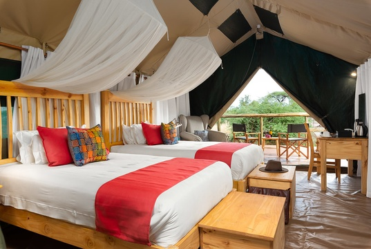 tented safari camp chobe national park