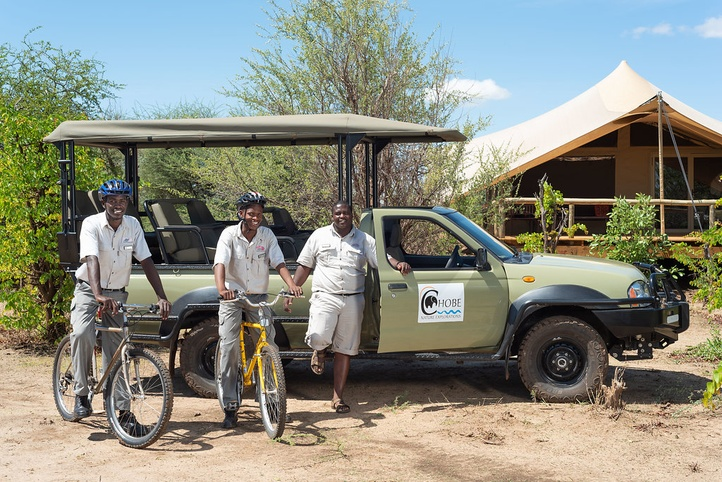 local village bicycle tour botswana